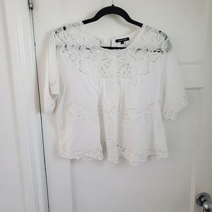 Love Sam cropped top/blouse